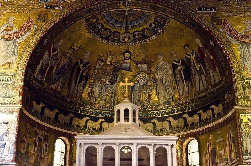 Santa Maria in Trastevere, Rome royalty-vrije stock afbeelding