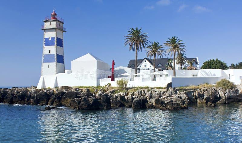 Santa Marta Lighthouse royalty free stock photography