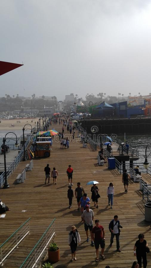 Santa Monica fotos de stock royalty free