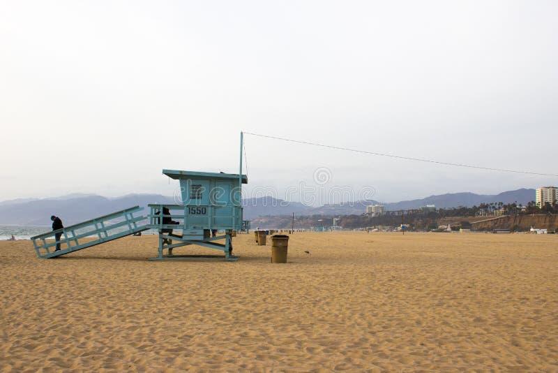 Santa Monica Beach fotos de archivo