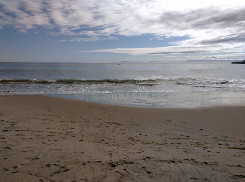 Santa Monica Beach stockfoto