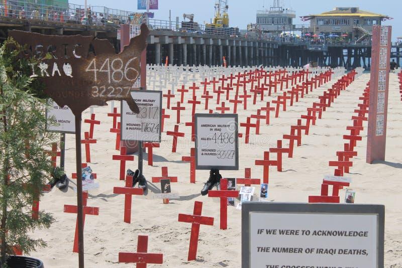 Santa Monica Beach stock fotografie