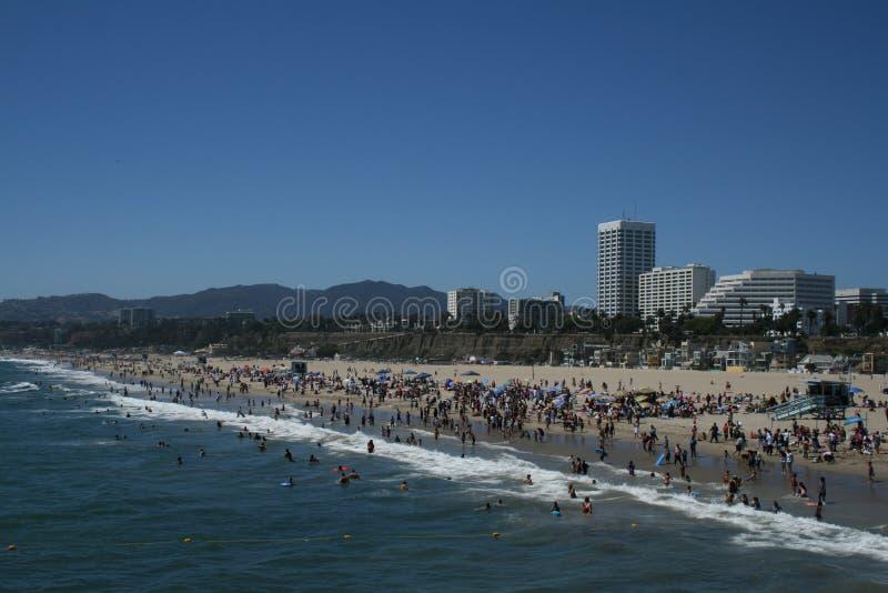 Santa Monica Beach royalty-vrije stock fotografie