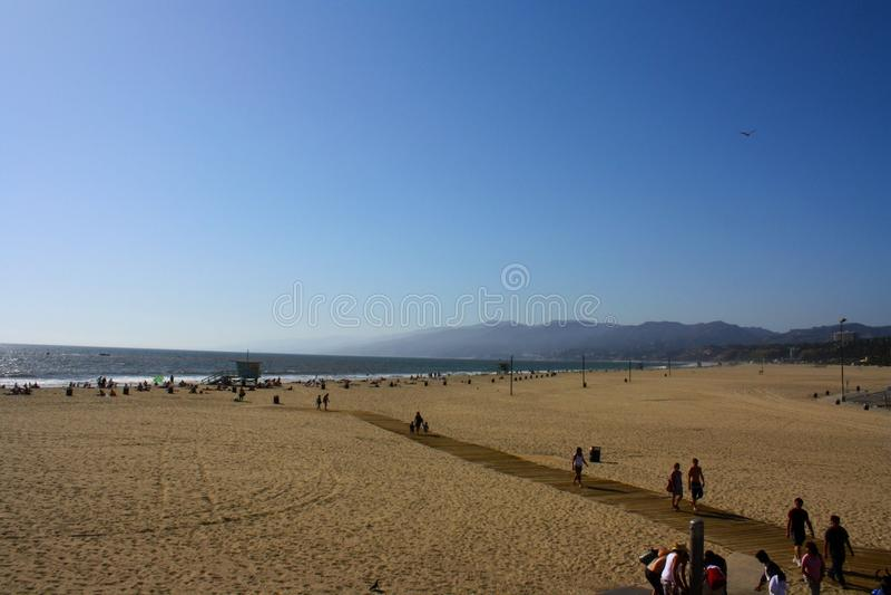 Santa Monica Beach fotografie stock