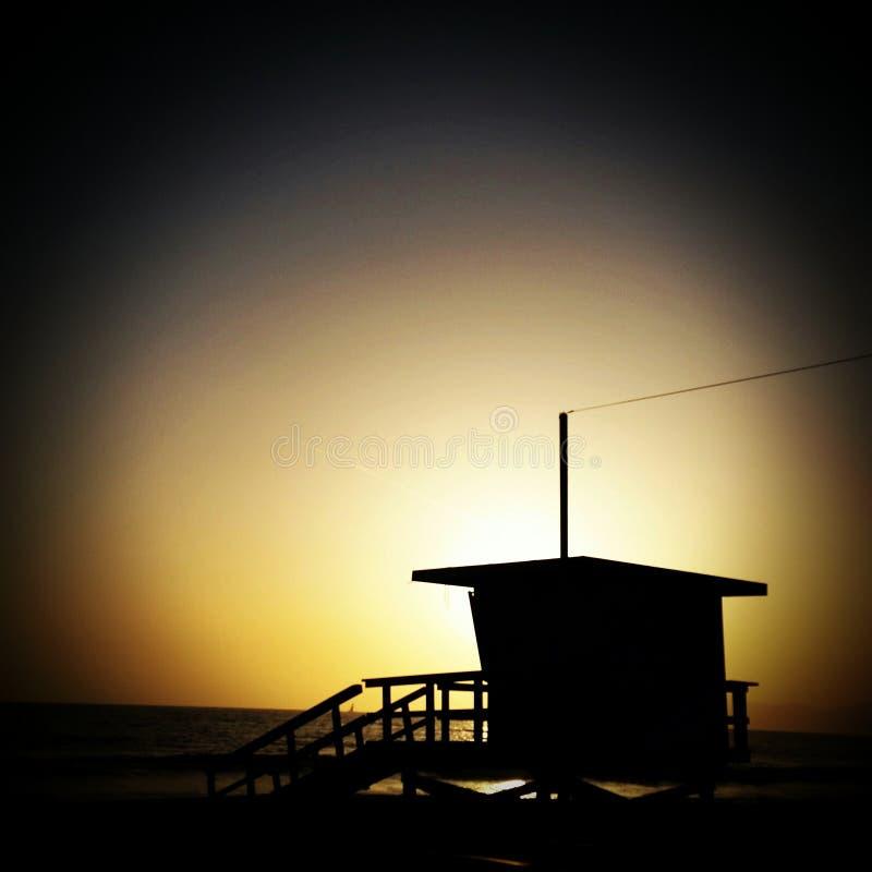 Santa Monica CA foto de archivo