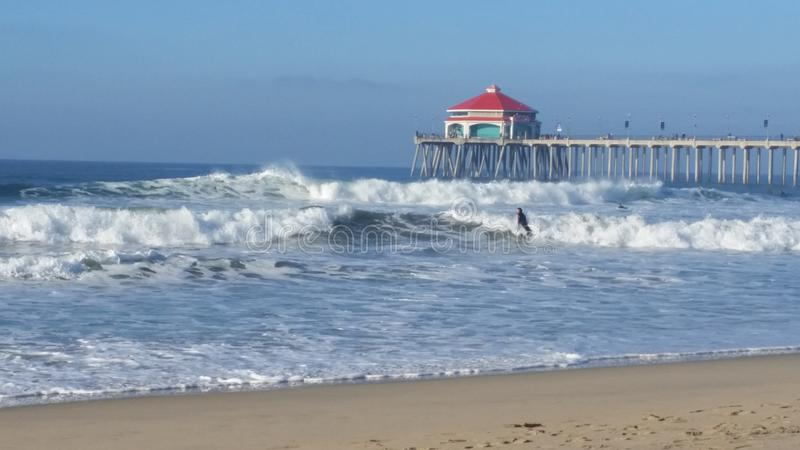 Santa Monica, CA lizenzfreie stockfotos