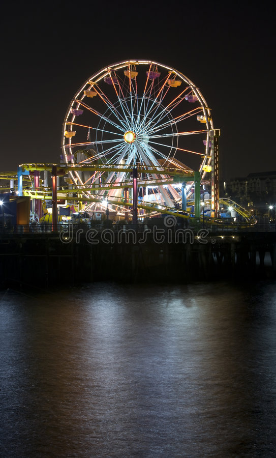 Download Santa Monica Ferris Wheel 3 Stock Photo - Image: 5087188
