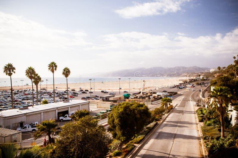 Santa Monica Highway stockfoto