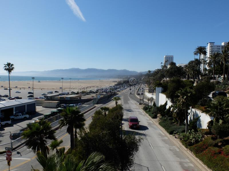 Santa Monica LA arkivbild