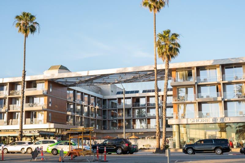 Santa Monica, la Californie photographie stock libre de droits