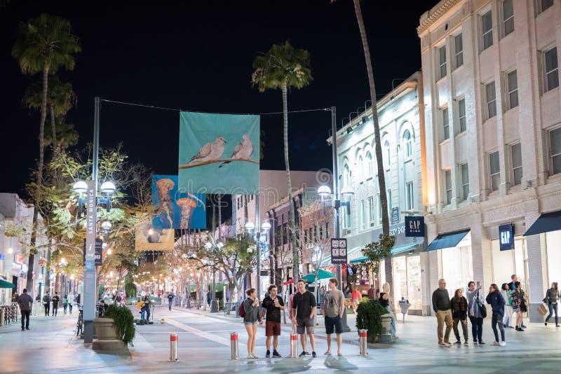 Santa Monica, la Californie photos stock