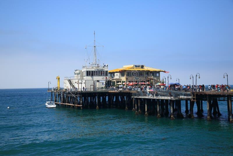 Santa Monica Pier Editorial Stock Photo