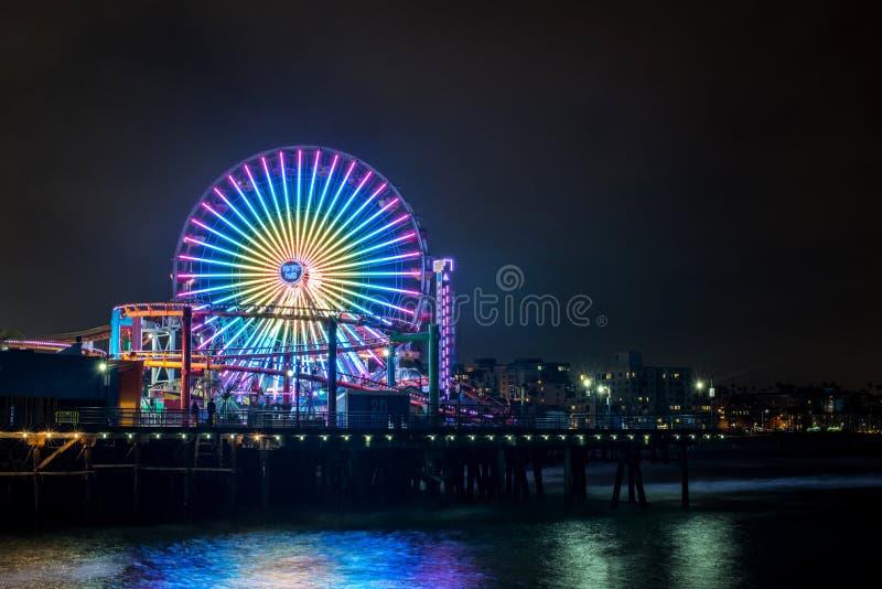 Santa Monica Pier foto de archivo