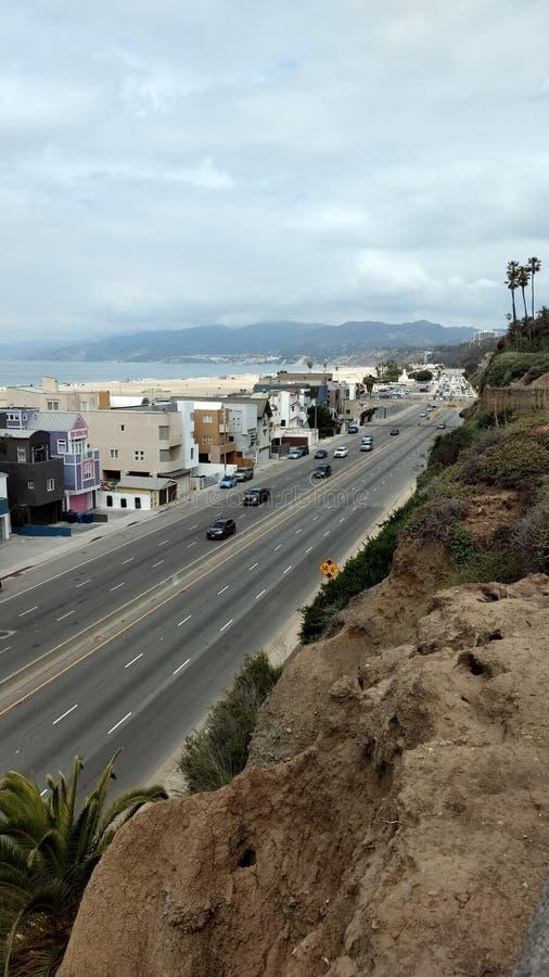 Santa Monica Pier stock fotografie