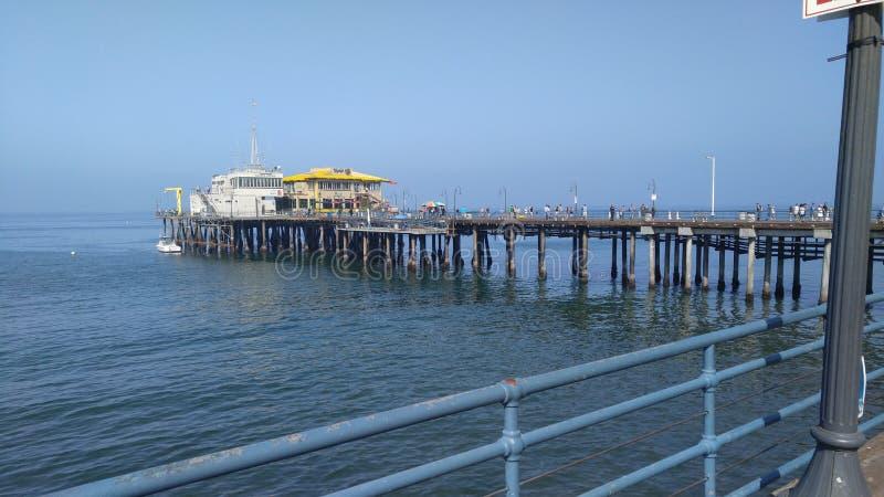 Santa Monica Pier fotos de stock