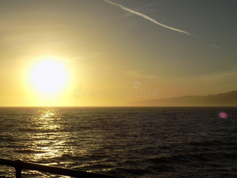 Santa Monica pir arkivbild