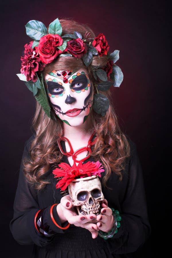 Santa Muerte. royalty-vrije stock afbeeldingen
