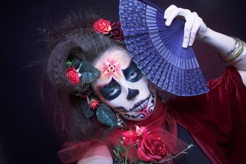 Santa Muerte. images libres de droits