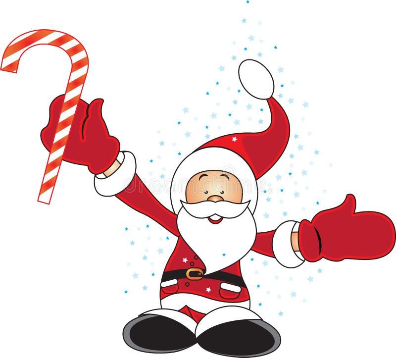 Santa_new illustrazione vettoriale