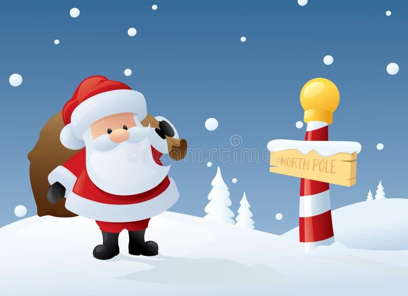 Santa original ilustração stock