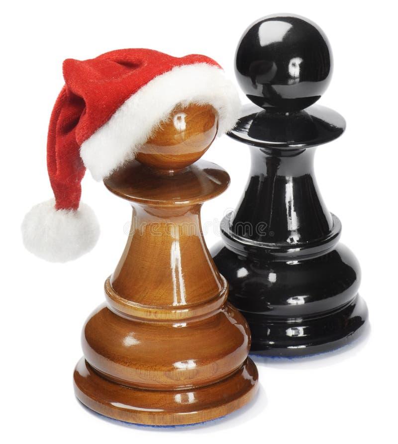 Santa Pawn Royalty Free Stock Image
