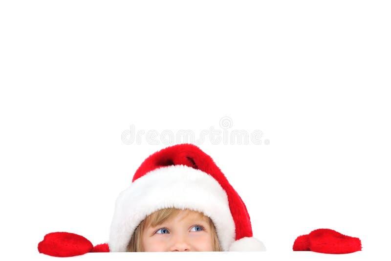 Download Santa pequena bonito foto de stock. Imagem de menina - 16870498