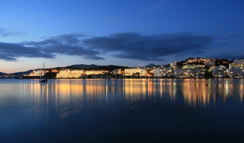 Santa Ponsa resort on Majorca stock photography