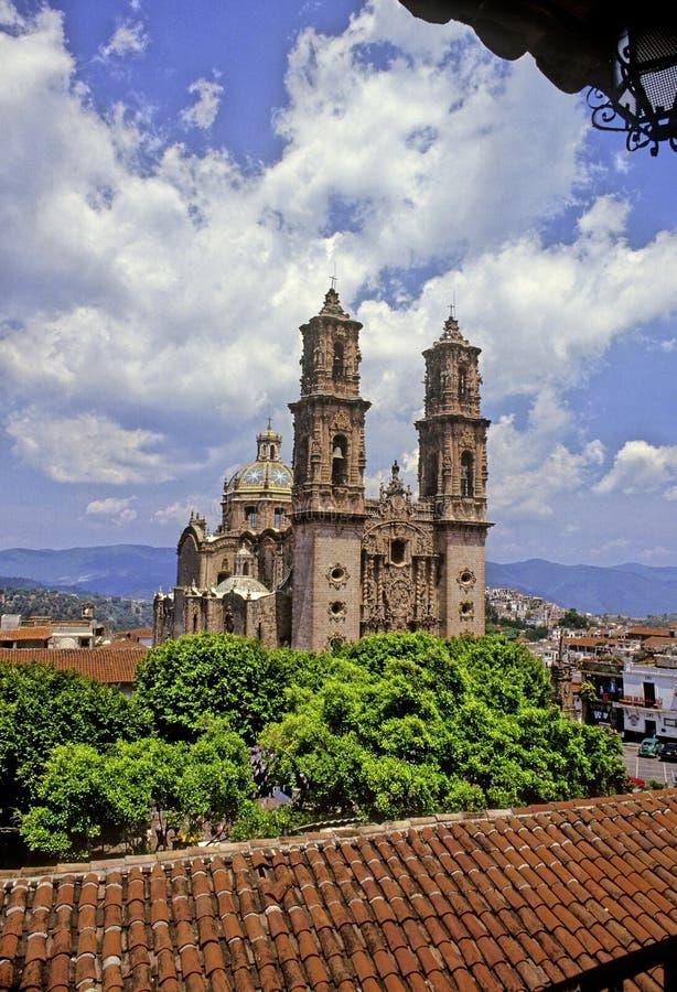 santa prisca καθεδρικών ναών στοκ εικόνες