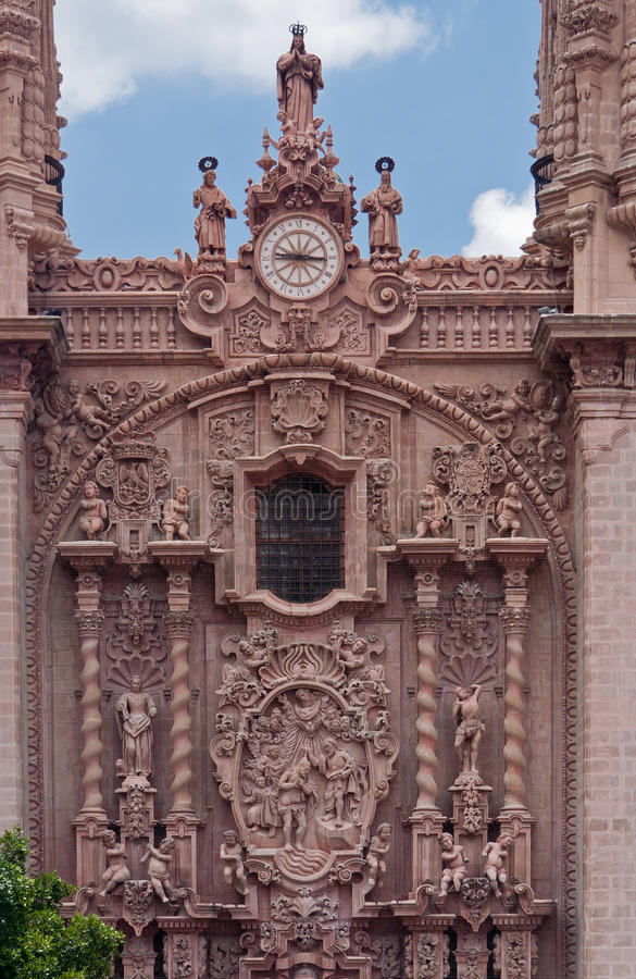 Santa Prisca Church In Taxco Mexico Royalty Free Stock Photos