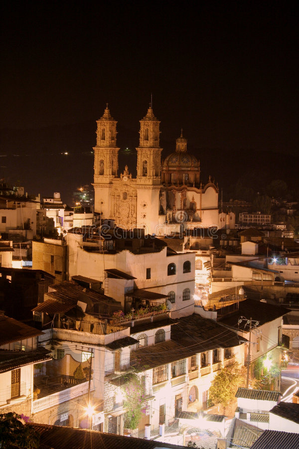 Free Santa Prisco Church, Taxco Royalty Free Stock Photography - 5275617