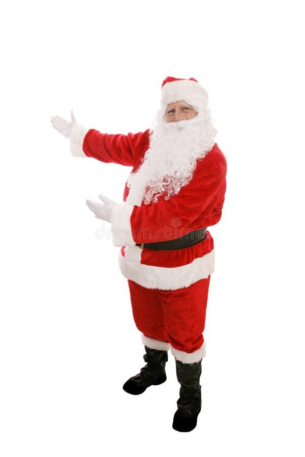 Santa przedstawia fotografia stock