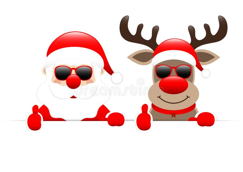 Free Png Santa Claus Silhouette Png Png - Santa Claus With Reindeer Clipart  , Free Transparent Clipart - ClipartKey