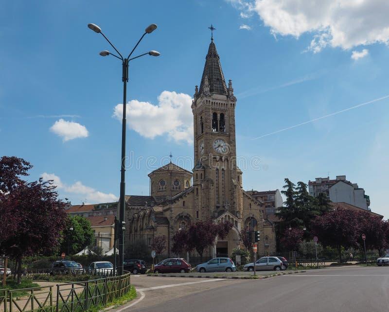 Santa Rita da Cascia-kerk in Turijn royalty-vrije stock fotografie