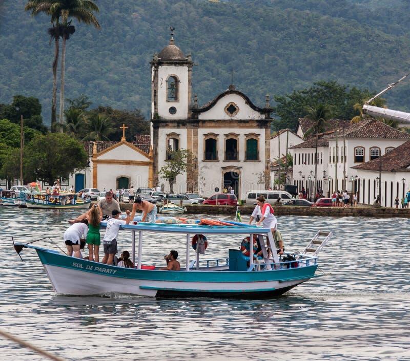 Download Santa Rita Kościelny Paraty Rio De Janeiro Zdjęcie Stock Editorial - Obraz złożonej z budynek, kolonista: 28967793