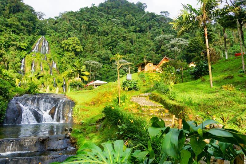 Santa Rosa de Cabal Hot Springs photos stock
