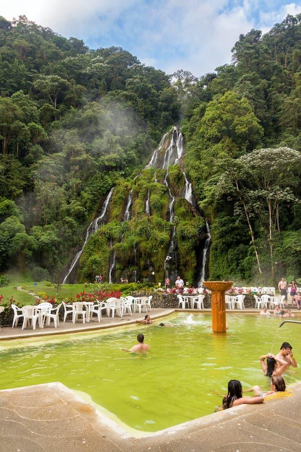 Santa Rosa de Cabal Hot Springs stock foto
