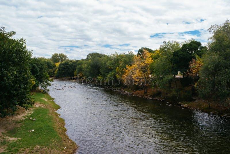 Santa Rosa de Calamuchita im Herbst lizenzfreie stockfotos