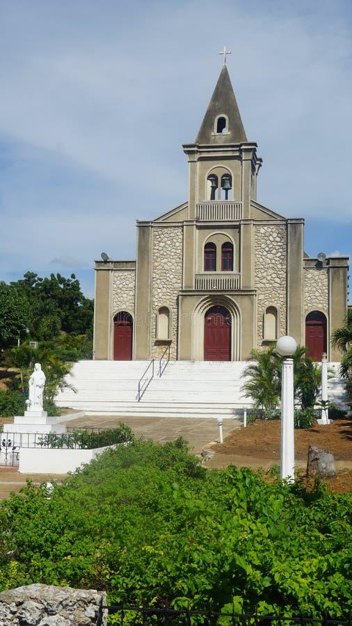 Download Santa Rosa De Lima Cathedral En El La Romana Imagen de archivo - Imagen de caribbean, señal: 64206365