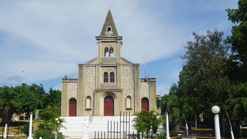 Download Santa Rosa De Lima Cathedral En El La Romana Foto de archivo - Imagen de isla, santa: 64206462