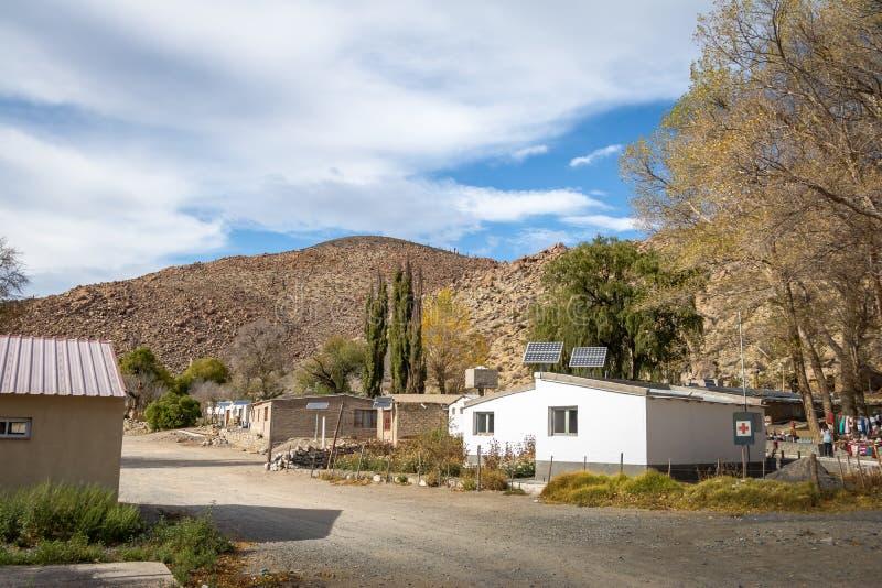 Santa Rosa De Tastil Wioska, Santa Rosa De Tastil -, Salto, Argentyna zdjęcia stock