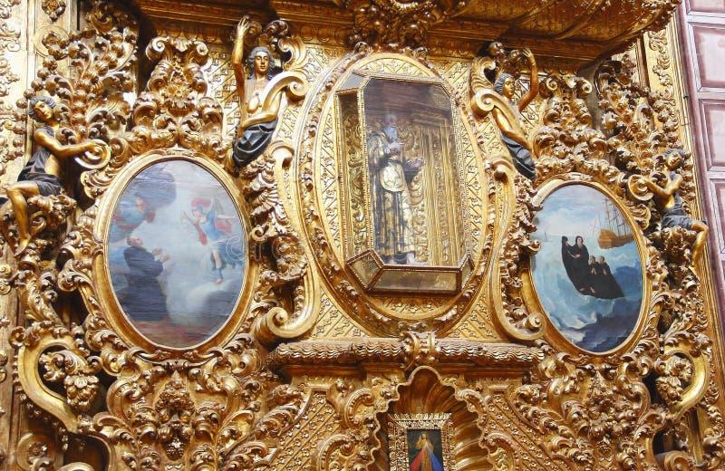 Santa rosa de viterbo church VI stock photos