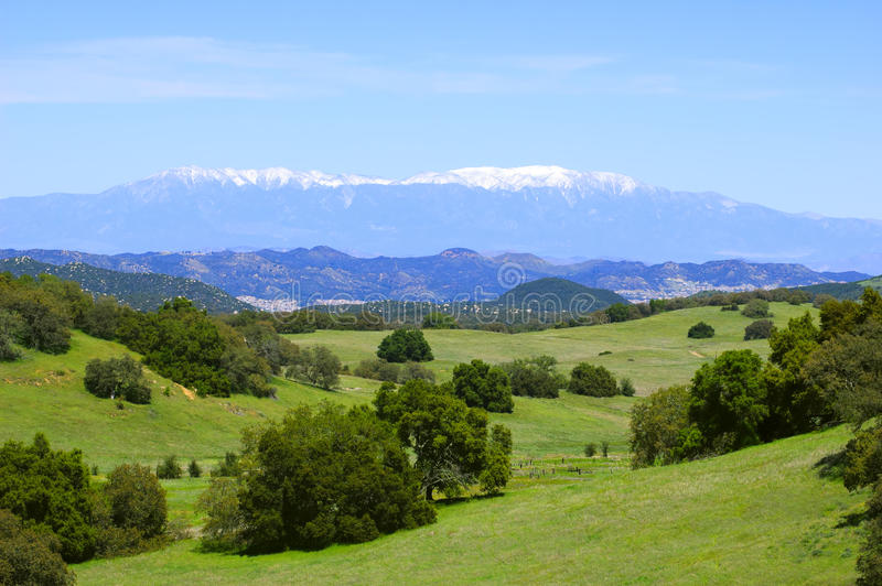 Santa Rosa Plateau in spring royalty free stock photos