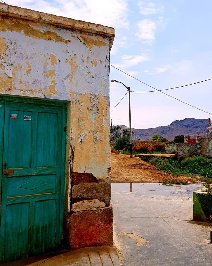 Santa Rosa, Pueblo Nuevo, Chepén, Perú stock afbeelding