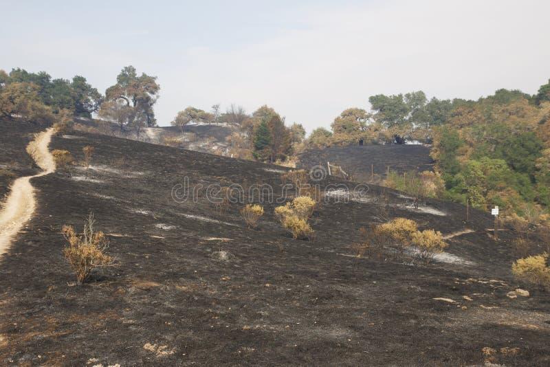Santa Rosa - Shaloh Rigional parkerar efter brand arkivfoto