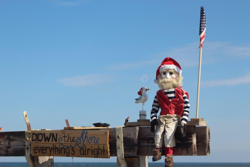 Santa rybak obrazy stock