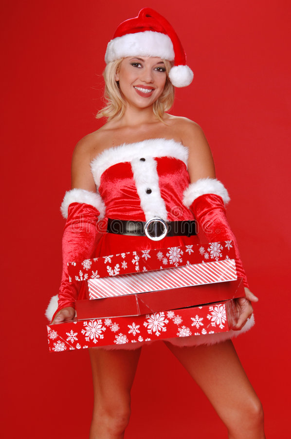 Free Santa S Christmas Helper Royalty Free Stock Photos - 3503378