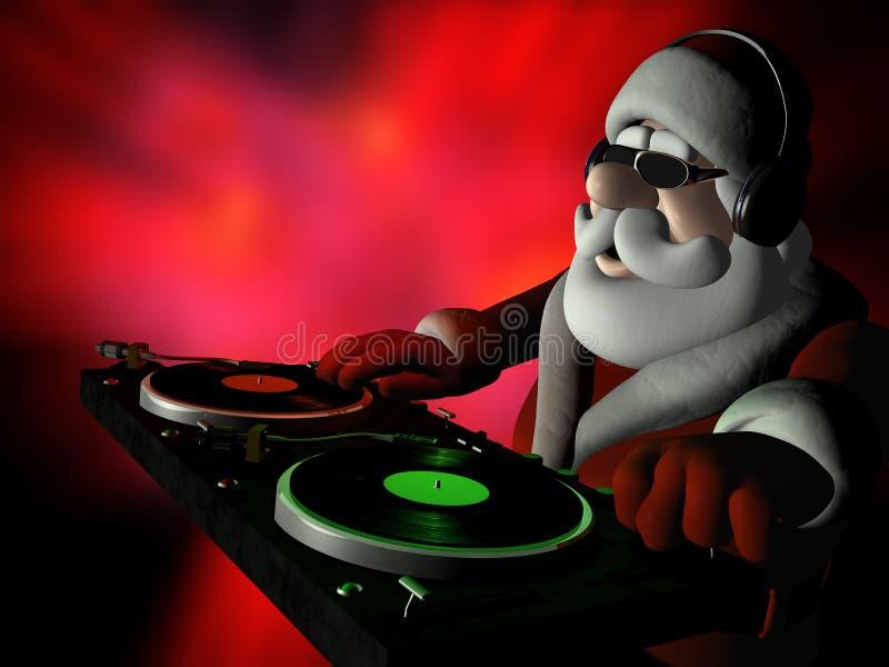 Santa's In Da House 2 royalty free illustration