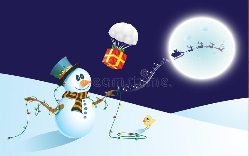 Download Santa's droplet stock illustration. Illustration of relax - 11960832