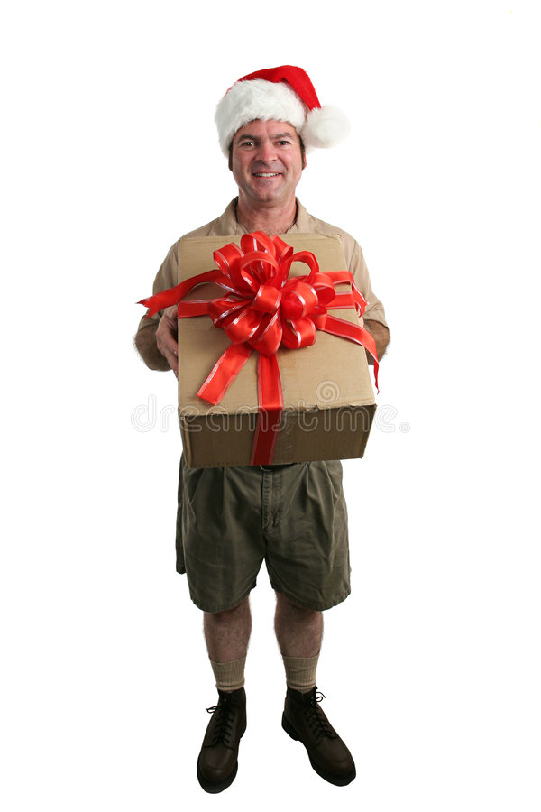Download Santa's Helper stock photo. Image of imported, package - 220428
