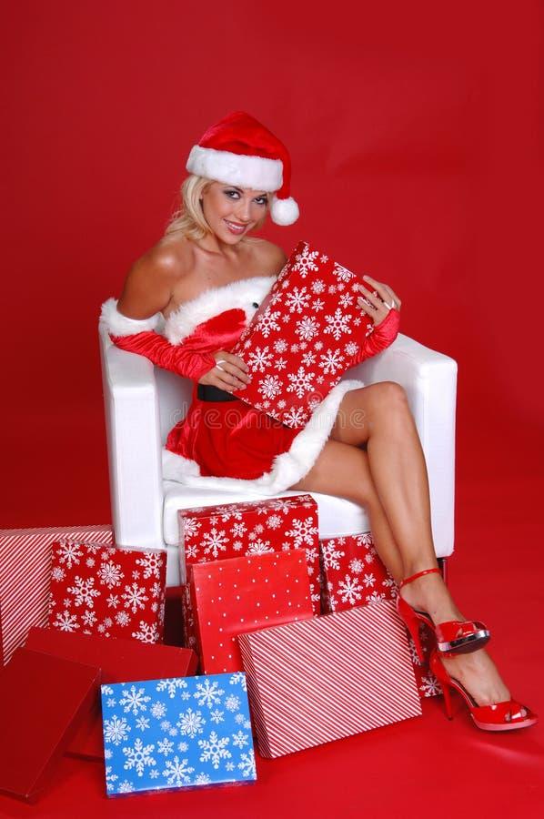 Santa's Helper royalty free stock image